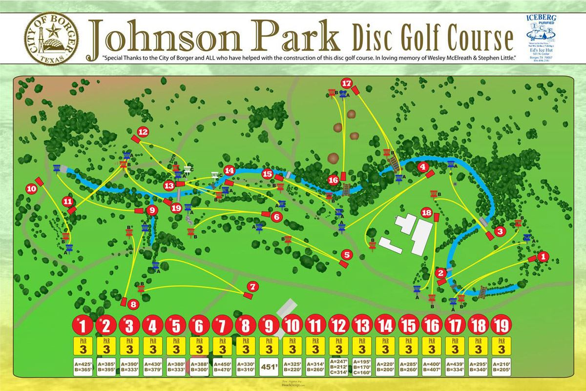 Disc Golf Course Map (PDF)